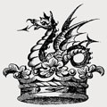 Innes family crest, coat of arms
