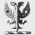 Browne family crest, coat of arms