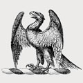 Antisell family crest, coat of arms