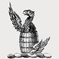 Vandyk family crest, coat of arms