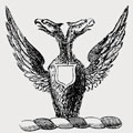 Garbet family crest, coat of arms