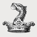 Dalston family crest, coat of arms