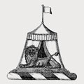 Dalglish-Bellasis family crest, coat of arms