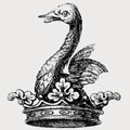 Vallance family crest, coat of arms