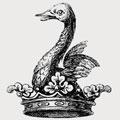Dandern family crest, coat of arms