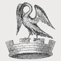 Wakering family crest, coat of arms
