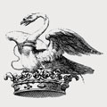 Atherton family crest, coat of arms
