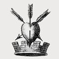 Arney family crest, coat of arms