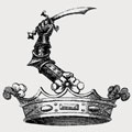 Backhouse family crest, coat of arms