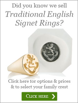 Traditional English Signet Rings