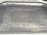 Vary Large, Sterling Silver, 2 Handled Tray