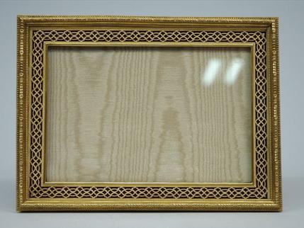 Antique French Bronze D'ore Large Picture Frame