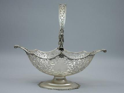 Antique Silver Basket