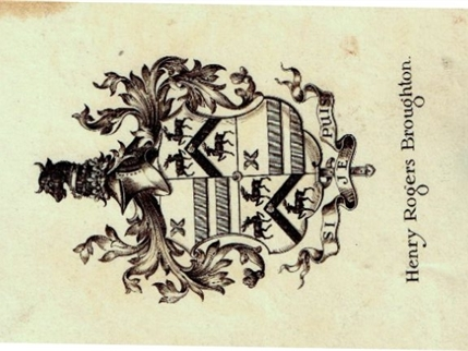 An early 20th century armorial bookplate : MyFamilySilver.com