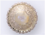 MENTMORE: An important George III Irish silver gilt salver