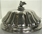 Antique English Sterling Silver Dish Cover - 1837