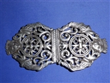 Arts & Crafts Antique Sterling Silver Nurse Buckle