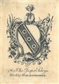 An 18th century armorial bookplate for Selwyn