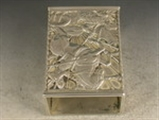 George V Arts & Crafts Silver Match Box Cover