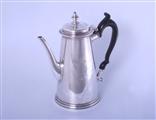 A fine George II sterling silver coffee pot