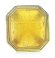 A George III gold and hard stone pendent seal