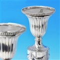 George III Sterling Silver Candlesticks