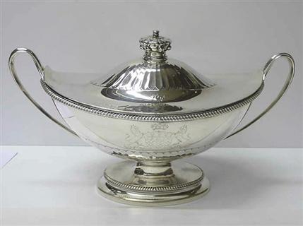 Georgian Silver Soup Tureen