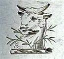 Antique George III Sterling Silver Hanoverian Pattern Teaspoon c.1770