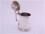 A fine Victorian sterling silver tankard