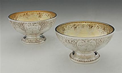 Pair of Silver Bowls