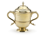 Captain Coram's Cup: A fine and documented George I silver-gilt cup and cover