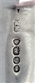 Antique Victorian Sterling Silver Fiddle Pattern Teaspoon 1838