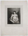 Antique portrait print: Charlotte Sophia, Duchess of Beaufort