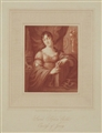 Antique portrait print: Sarah Sophia Child. Countess of Jersey
