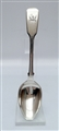 Antique Victorian Sterling Silver Fiddle Pattern Teaspoon, 1853