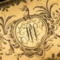 ANTIQUE 18thC ENGLISH SOLID GOLD EXCEPTIONAL SNUFF BOX, WILLIAM GATTLIFFE c.1710