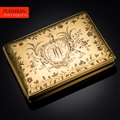 ANTIQUE 18thC ENGLISH SOLID GOLD EXCEPTIONAL SNUFF BOX, WILLIAM GATTLIFFE c.1710