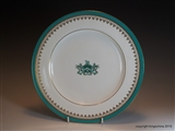 Copeland Spode Armorial Porcelain Plate WORSHIPFUL COMPANY OF CLOTHWORKERS LIVERY