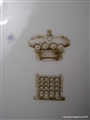 Royal Worcester Armorial Porcelain BARON RAGLAN SOMERSET Family Crest Coat Arms Wellington Crimea
