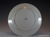 Flight Barr Barr Armorial Porcelain Worcester Plate Family Crest Coat Arms