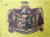Regency carriage panel for Sir William Wynn Wynne