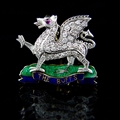 The Buffs (Royal East Kent Regiment) Regimental Brooch