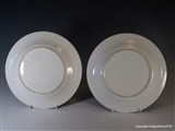 Superb Pair Royal Worcester Armorial Porcelain Plates CITY OF LONDON