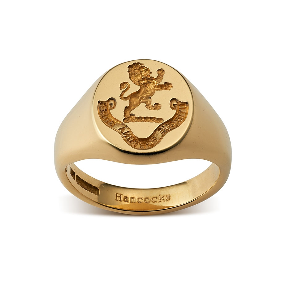 s gold signet ring myfamilysilver