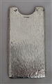 Antique Sterling Silver Victorian Textured Finish Card Case 1900