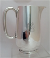 Antique Silver Electroplate Victorian Water Jug Circa 1890