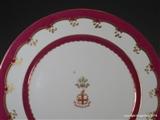 Coalport Armorial Porcelain Plates PRINCE WALES City of London