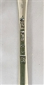 A good Antique Silver George III Silver Feather Edged Marrow Scoop, 1773
