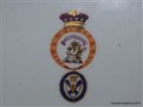 Meissen Armorial Porcelain Plate LORD BELHAVEN & STENTON HAMILTON Crest Coat Arms