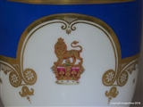Royal Armorial Porcelain Cup & Saucer KING GEORGE IV GREAT BRITAIN